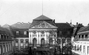 Reichskanzlei in der Wilhelmstraße Berlin