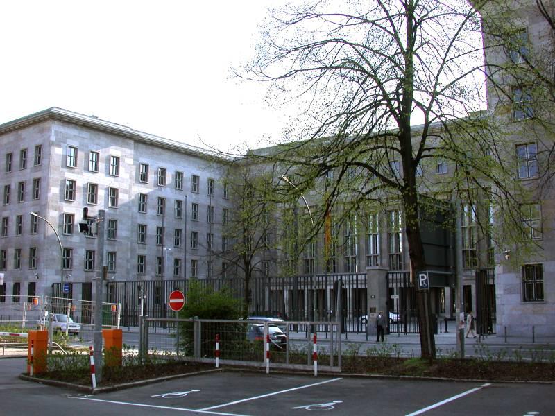 Haupteingang Detlev Rohwedder Haus