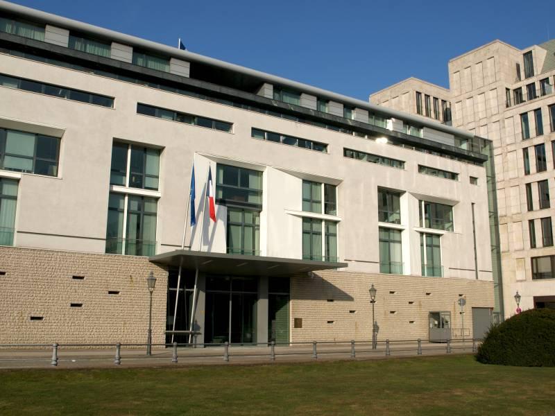 Französische Botschaft am Pariser Platz