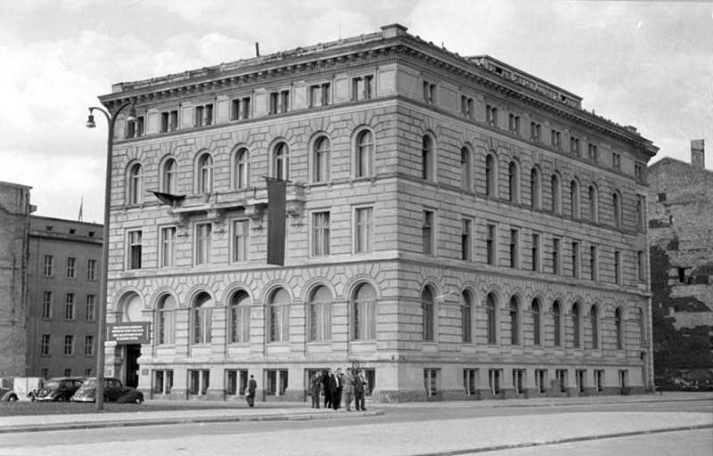 Gästehaus am Thälmannplatz, Berlin 1951