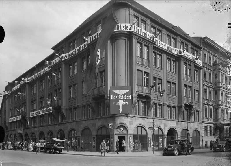 Geschäftshaus, Berlin Hedemannstraße/Wilhelmstraße