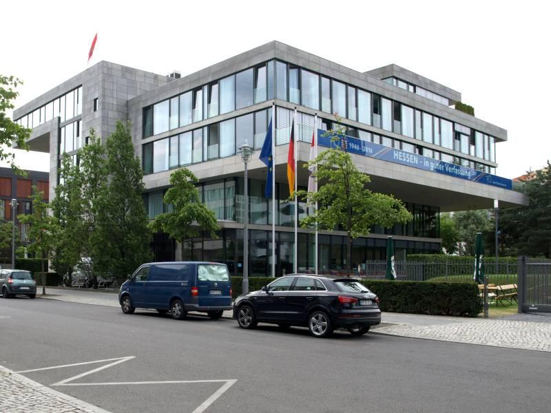 Fassade Hessische Landesvertretung Berlin