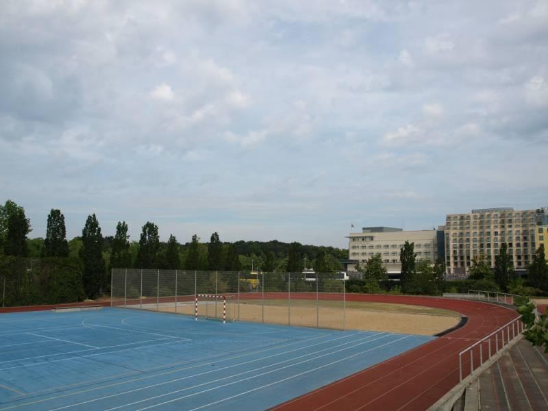 Sportplatz in den Ministergärten