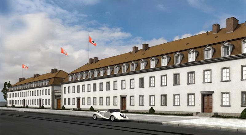 Die Kasernen der Neuen Reichskanzlei