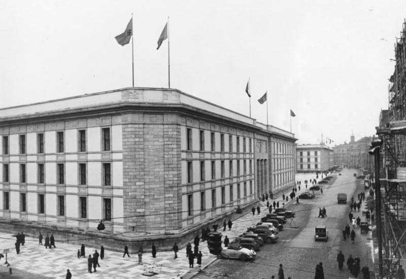 Die Neue Reichskanzlei in der Voßstraße, 1939