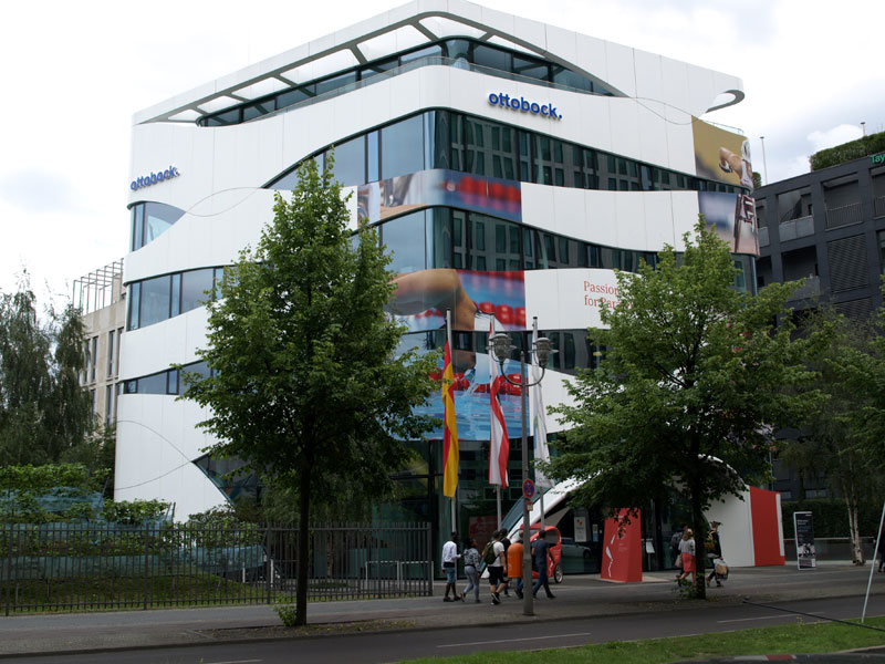Otto bock science center von gn diger architekten - Von bock architekten ...
