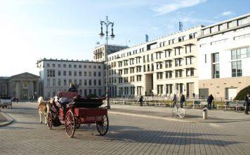 Pariser Platz, Französische Botschaft, Dresdner Bank, Palais am Pariser Platz, Haus Liebermann