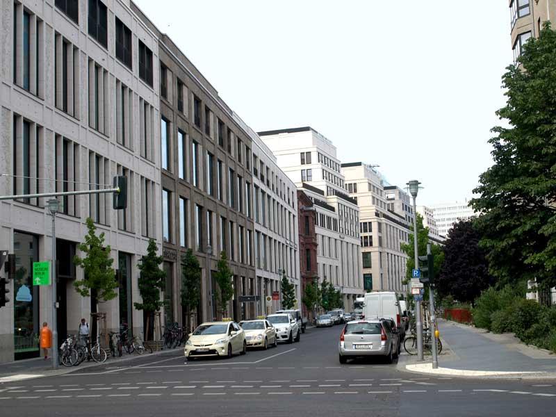 Die heutige Voßstraße