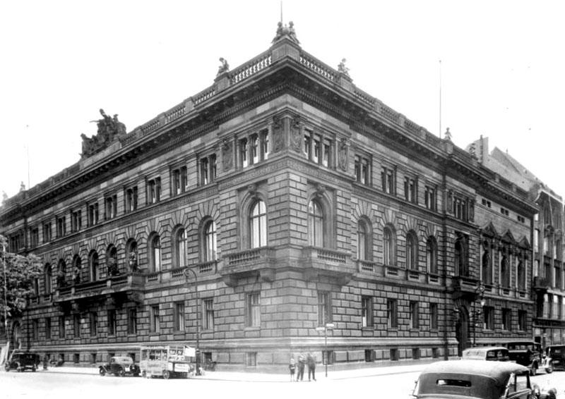 Reichsfinanzministerium Südseite des Wilhelmplatzes