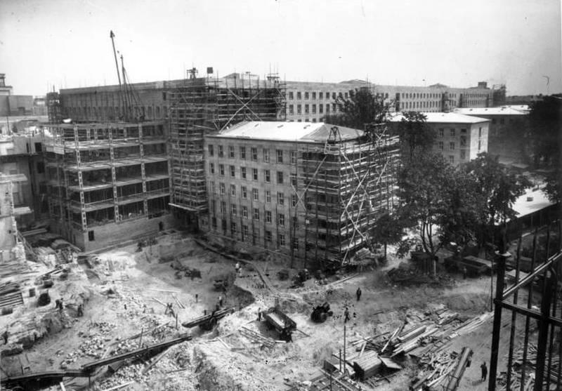 Baustelle des Reichsluftfahrtministerium