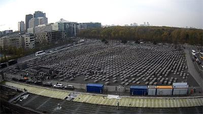 Webcam Denkmal für die ermordeten Juden Europas