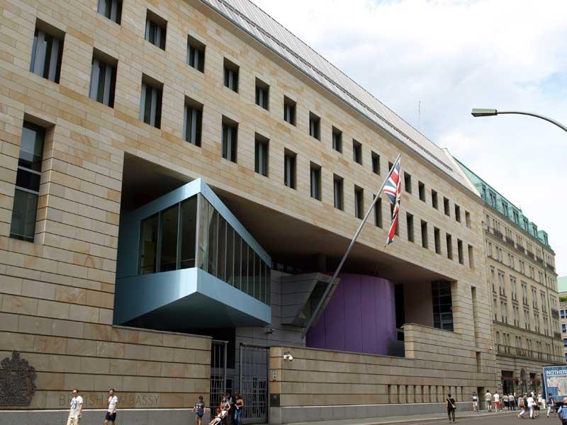 Britische Botschaft Berlin von Michael Wilford