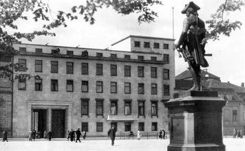 Der Erweiterungsbau der Alten Reichskanzlei