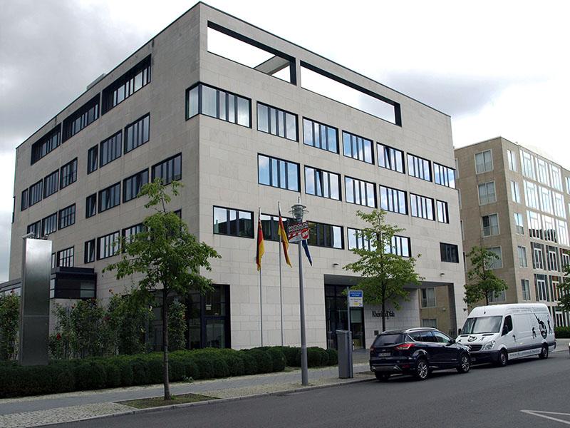Landesvertretung Rheinland-Pfalz, In den Ministergärten 6