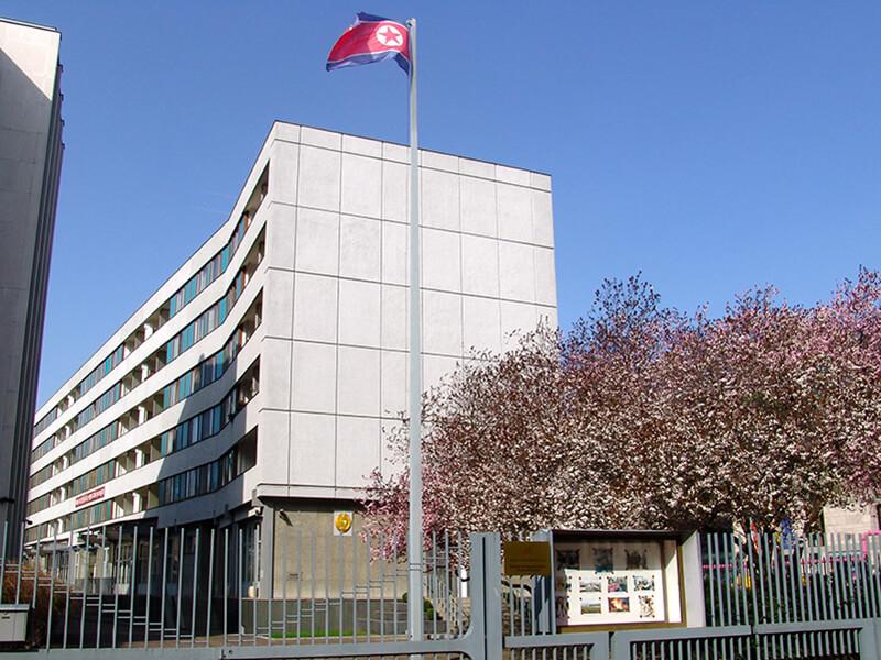 Botschaft der Koreanischen Volksrepublik, Berlin 2011