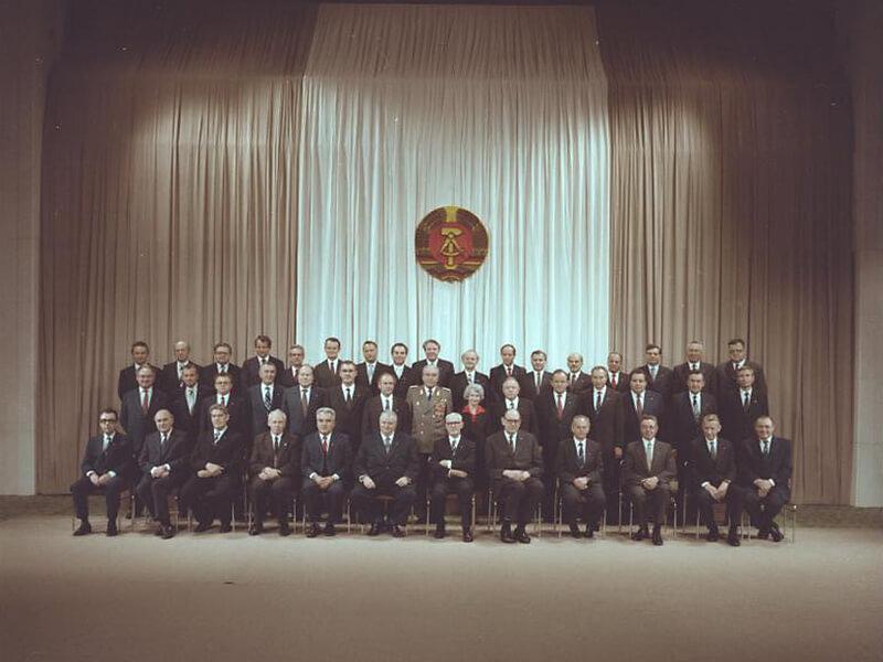 Ministerrat der DDR, Gruppenbild