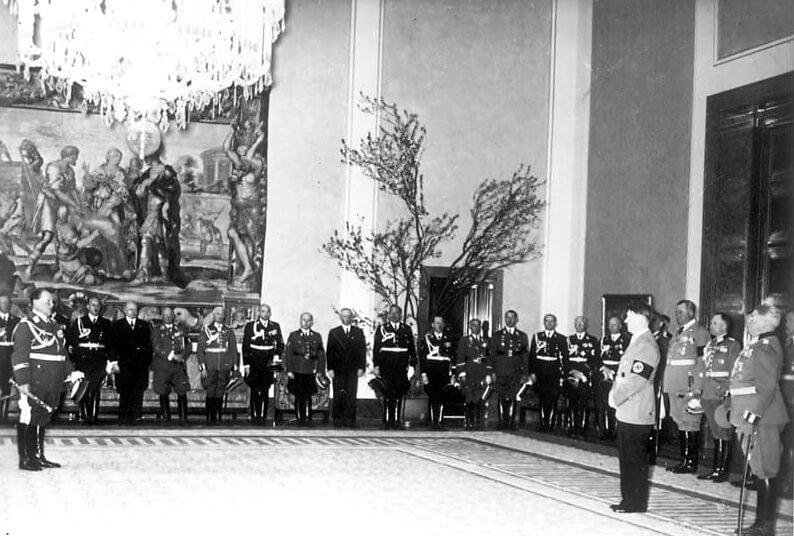 Neue Reichskanzlei, Hitlers 50. Geburtstag