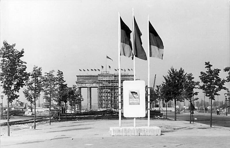 Pariser Platz, Berlin 1950