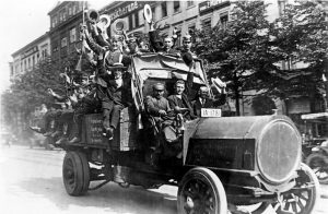 Mobilmachung in Berlin