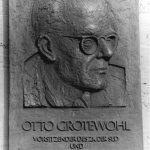 Berlin, Gedenktafel Otto Grotewohl
