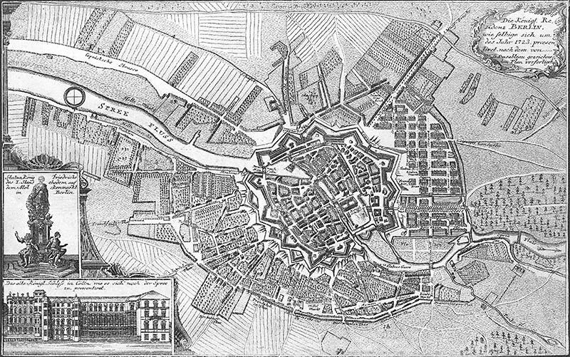 Die Königl. Residenz Berlin, 1723