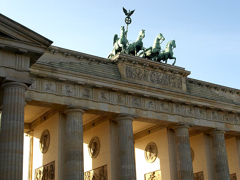 Die Quadriga auf dem Brandenburger Tor