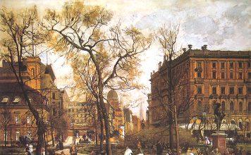 Der Wilhelmplatz 1886