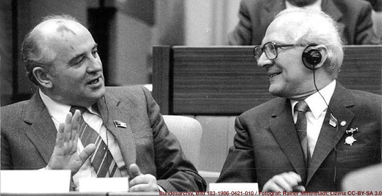 Honecker und Gorbatschow, Berlin 1986