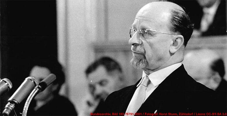 Walter Ulbricht, Vorsitzender des Staatsrates der DDR, 1960