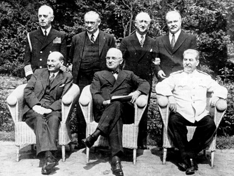 Potsdamer Konferenz, Gruppenbild