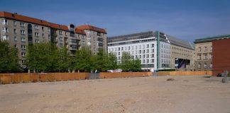 Wilhelmstraße 56-59 nach Abriss der Plattenbauten