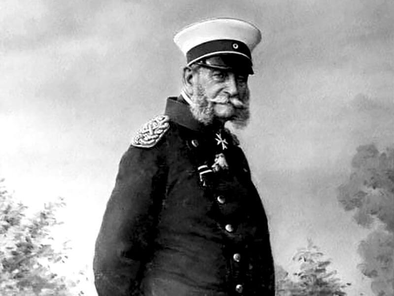 Kaiser Wilhelm I., 1887