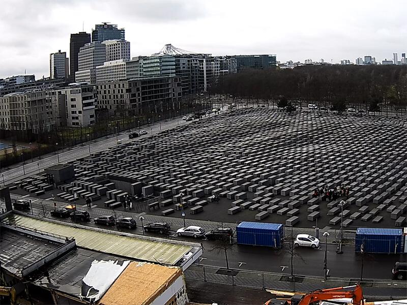 Neubaustelle am Holocaust-Mahnmal