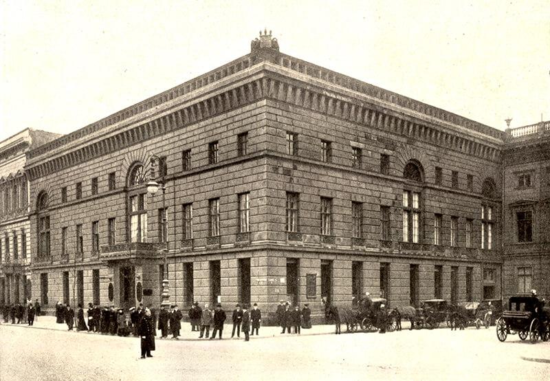 Palais Redern um 1900