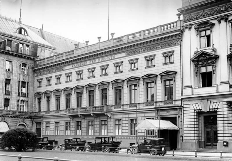 Akademie der Künste am Pariser Platz (1933)
