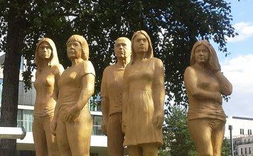 "Skulpturenprojekt ""wir – weltoffen, individuell, respektvoll"", Stephan Guber"