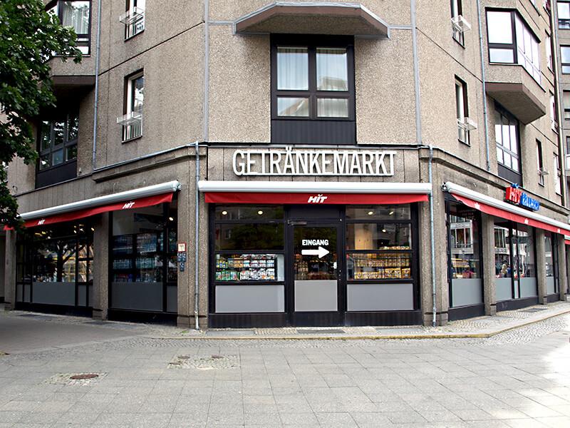 HIT Ulrich-Gertänkemarkt an der Wilhelmstraße