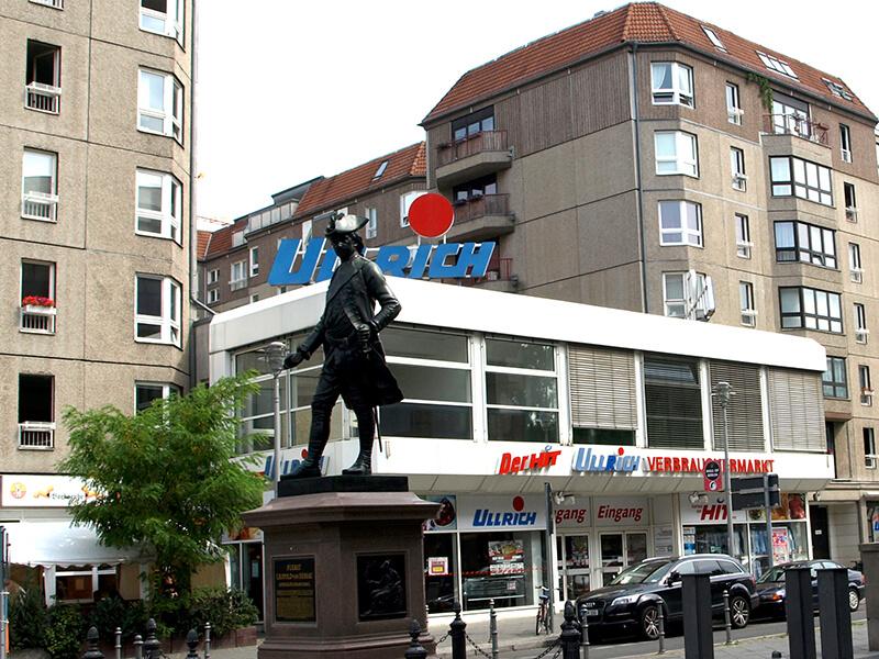 HIT Ulrich-Verbrauchermarkt an der Mohrenstraße/Ecke Wilhelmstraße