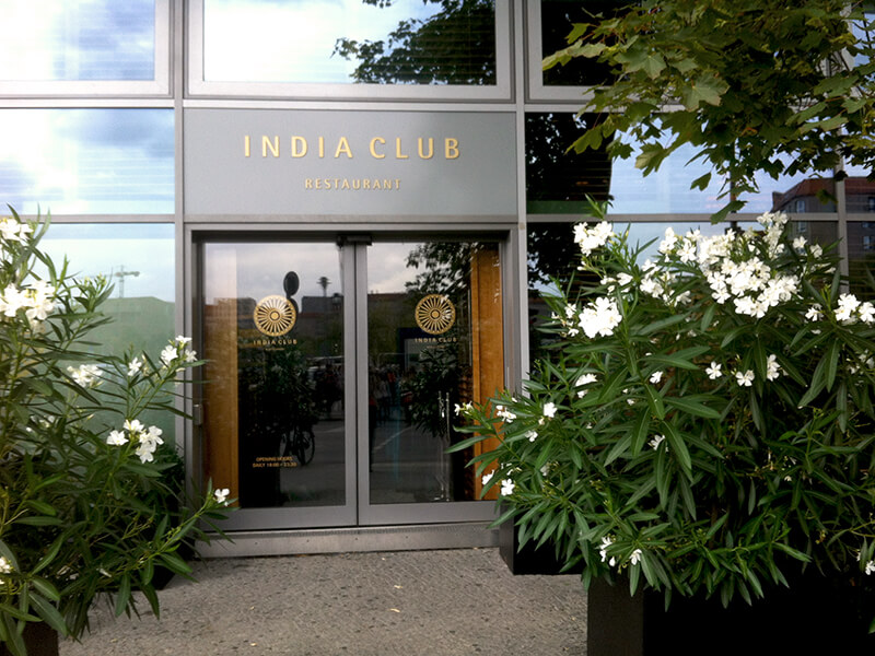 Restaurant India Club im Adlon Palais