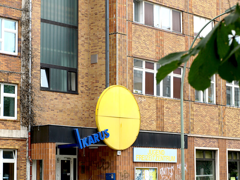 Jugendclub Ikarus in der Wilhelmstraße 51