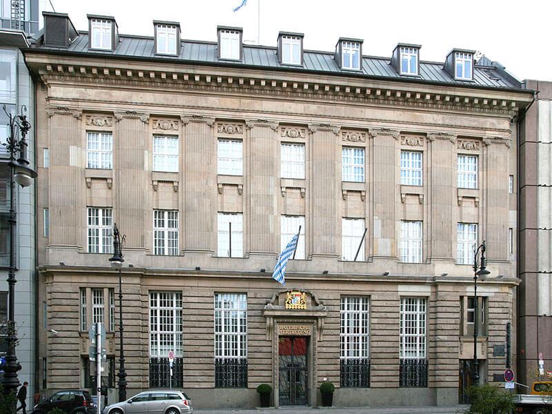 Bayerische Vertretung in Berlin, 2008