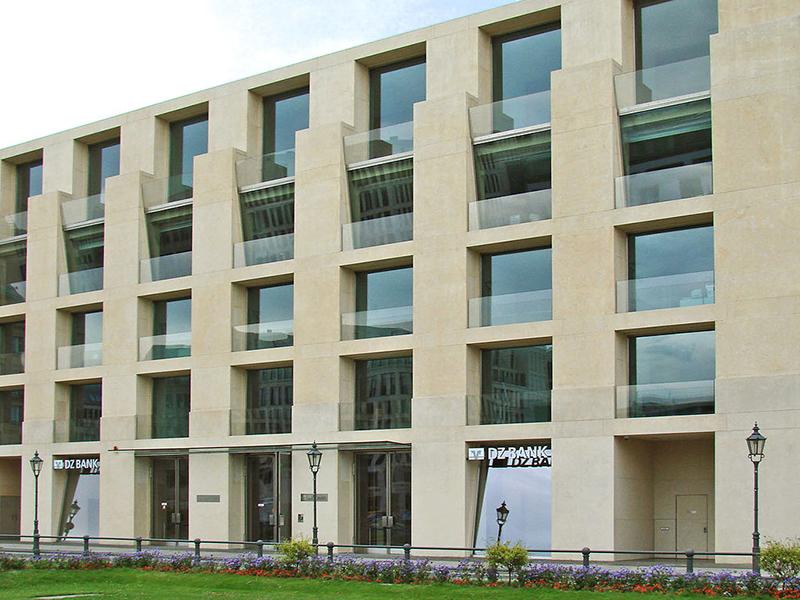 Die DZ Bank am Pariser Platz 3