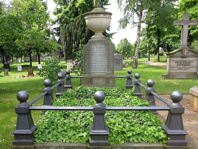 Grabstätte von Rohdich, Invalidenfriedhof, Berlin