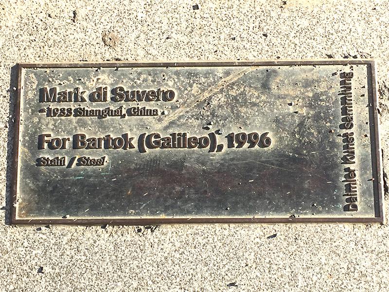 """Mark di Suvero """"Galileo"""""""