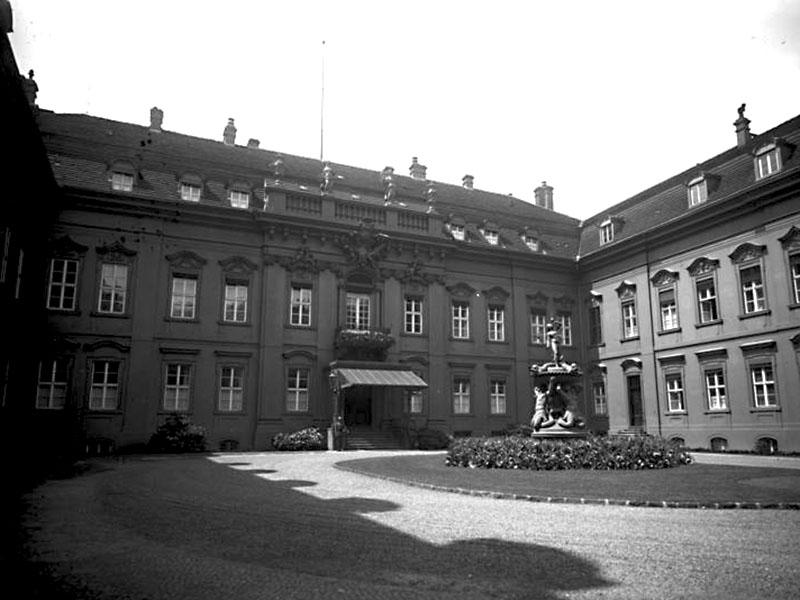 Reichspräsidentenpalais, Außenansicht