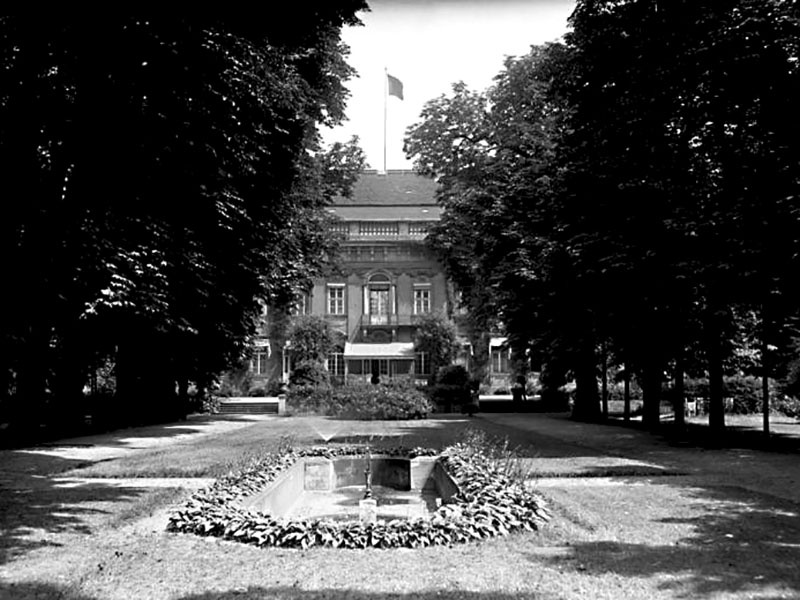 Park des Reichspräsidentenpalais, 1932