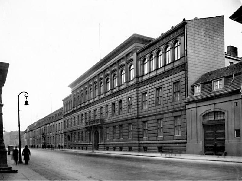 Neubau Wilhelmstraße 74, Reichsamt des Inneren