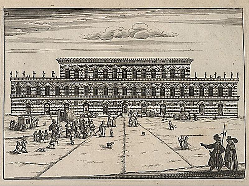Palazzo Pitti, Florenz, 1664