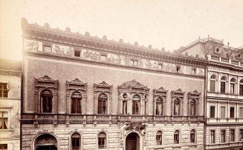 Das Palais Pringsheim in der Wilhelmstraße 67 Berlin, 1882