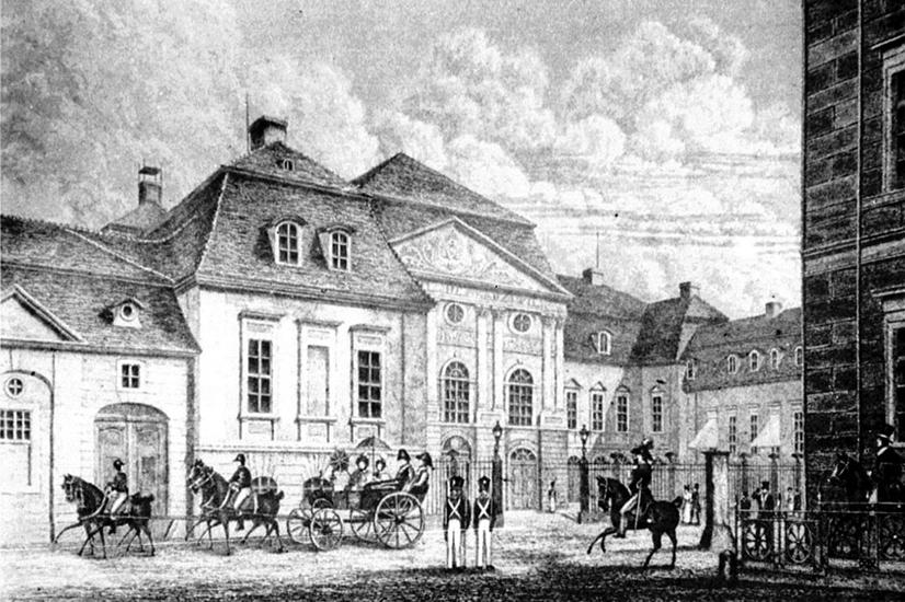 Palais Schulenburg / Radziwill, 1830